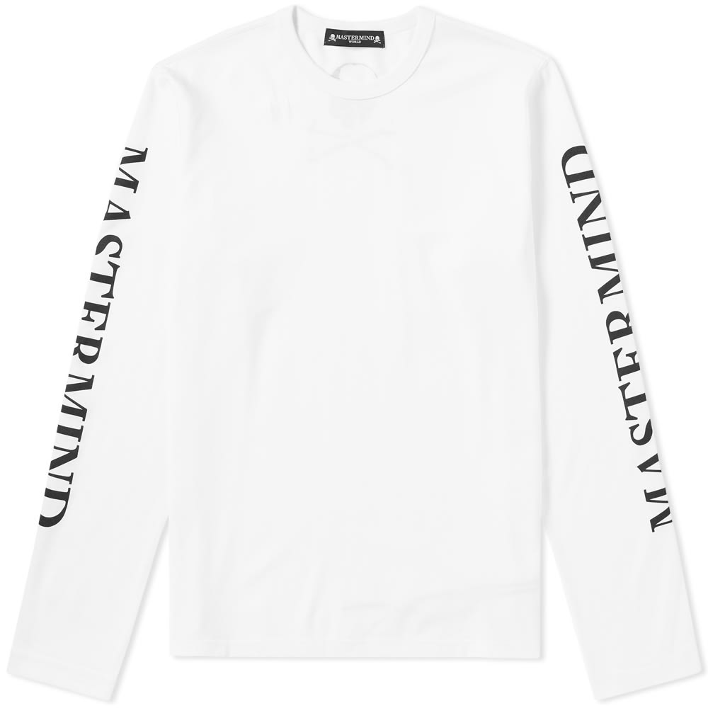 Photo: MASTERMIND WORLD Long Sleeve Arm Logo Tee