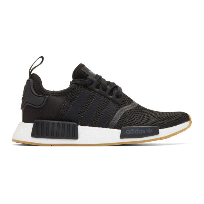 adidas Originals Black NMD-R1 Boost Sneakers