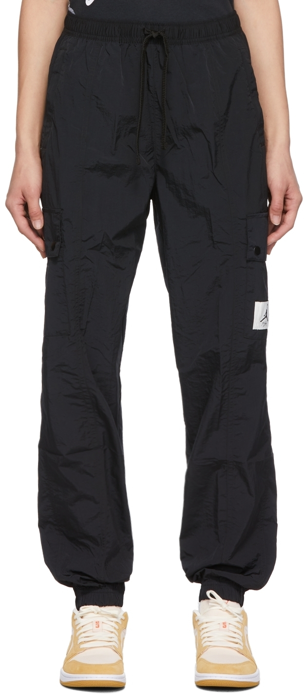 Photo: Nike Jordan Black Essentials Woven Lounge Pants