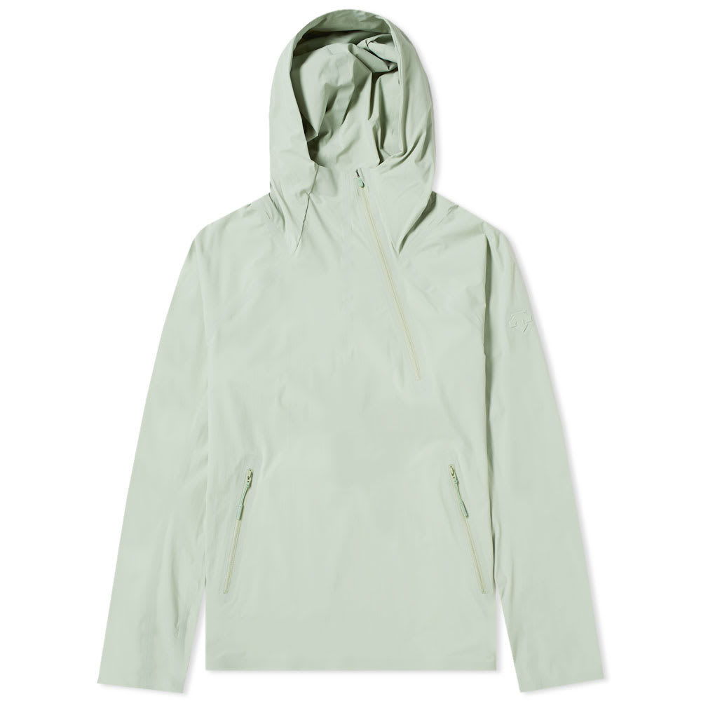 Photo: Descente Allterrain Parahem Packable Hooded Jacket Storm Green