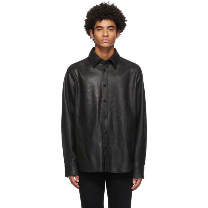 Photo: rag and bone Black Leather Lucas Jacket