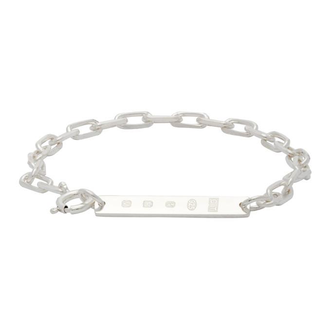 Photo: Chin Teo SSENSE Exclusive Silver Hallmark Bracelet