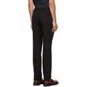 Giorgio Armani Black Solid Trousers