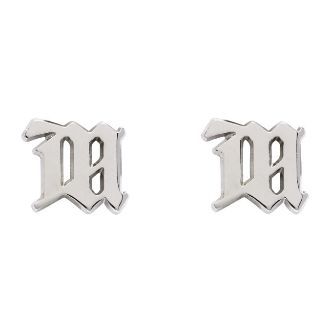 Photo: MISBHV Silver 'M' Classic Earrings
