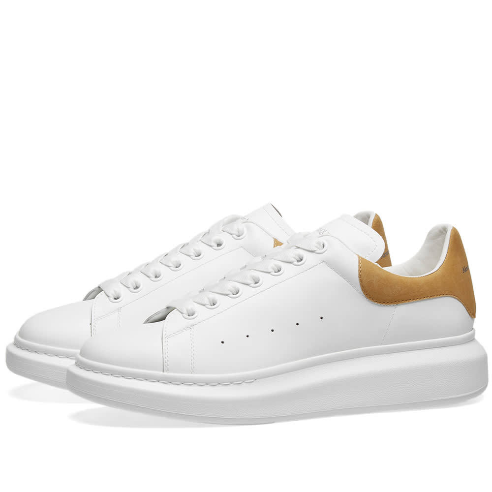 Photo: Alexander McQueen Heel Tab Wedge Sole Sneaker