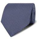 Dunhill - 8cm Mulberry Silk-Jacquard Tie - Men - Midnight blue