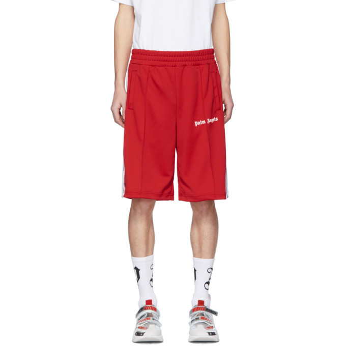 Photo: Palm Angels Red Track Shorts