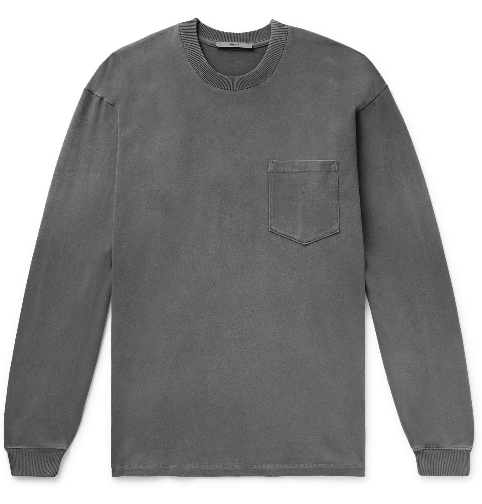Photo: BILLY - Cotton-Jersey T-Shirt - Gray