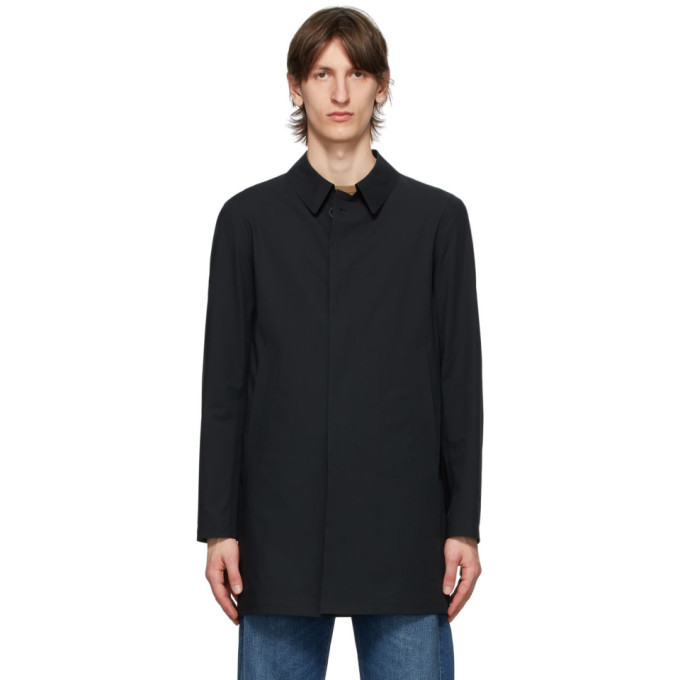 Photo: Herno Black Scuba Raincoat