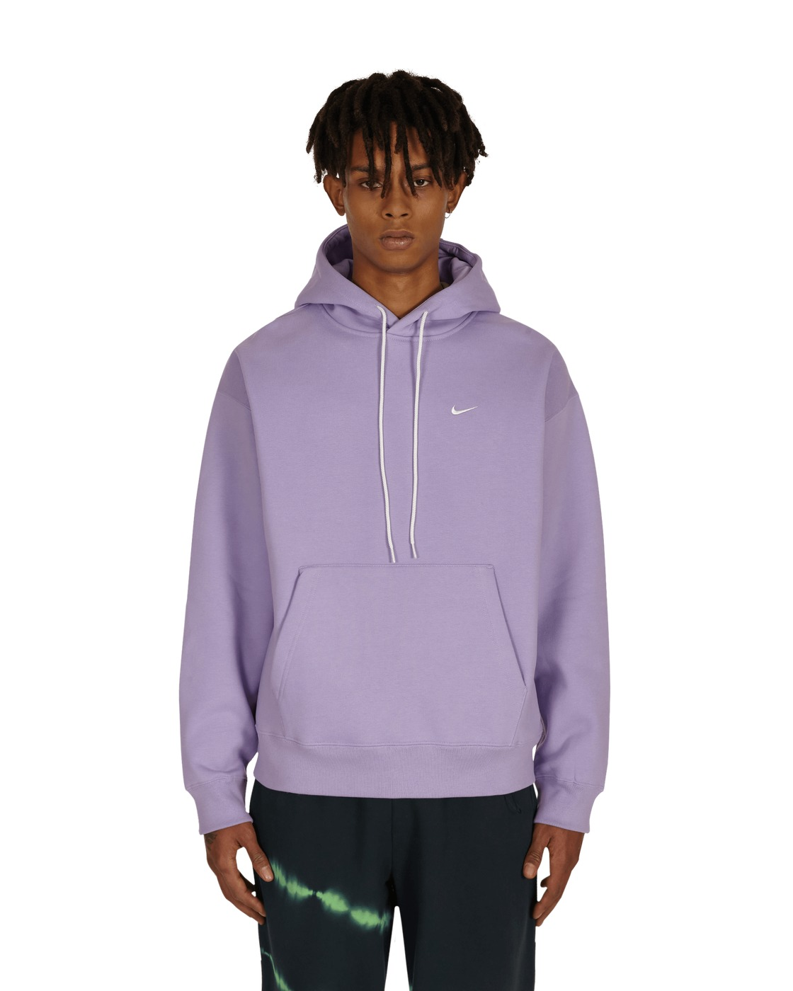 Nike Special Project Logo Hooded Sweatshirt Urban Lilac/White