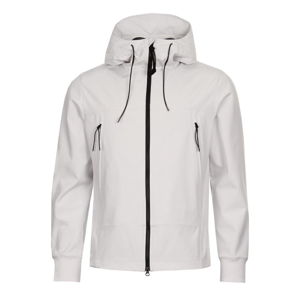 Soft Shell Goggle Jacket - Tapioca White