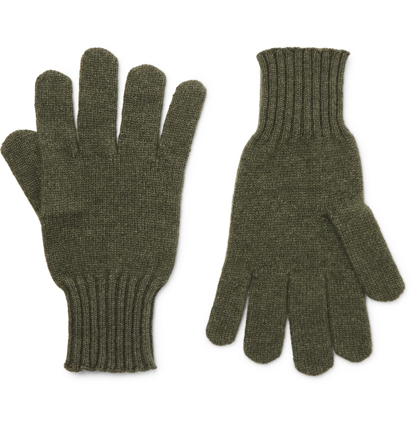 Photo: Rubinacci - Cashmere Gloves - Green