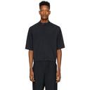 3.1 Phillip Lim Navy and White Wool Pinstripe Shirt