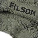 Filson - Logo-Intarsia Stretch-Knit Socks - Green