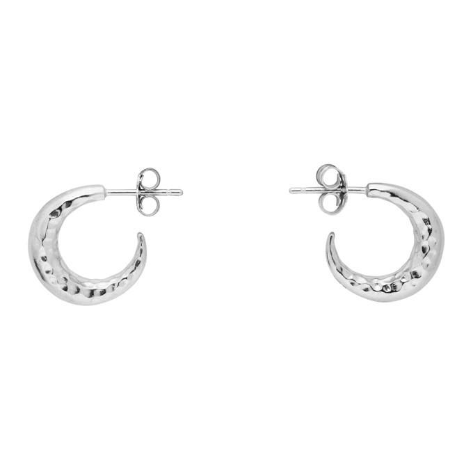 Photo: Dear Letterman Silver Malakyi Earrings