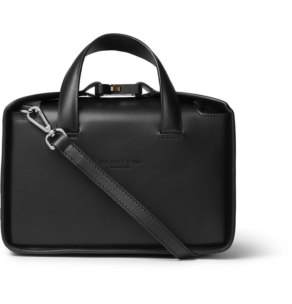 Photo: 1017 ALYX 9SM - Leather Messenger Bag - Black