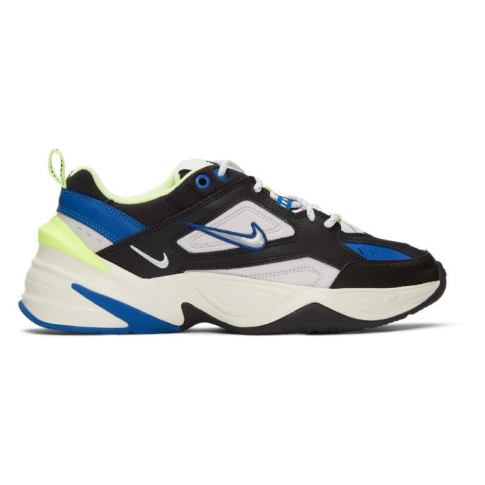 Photo: Nike Blue and Black M2K Tekno Sneakers