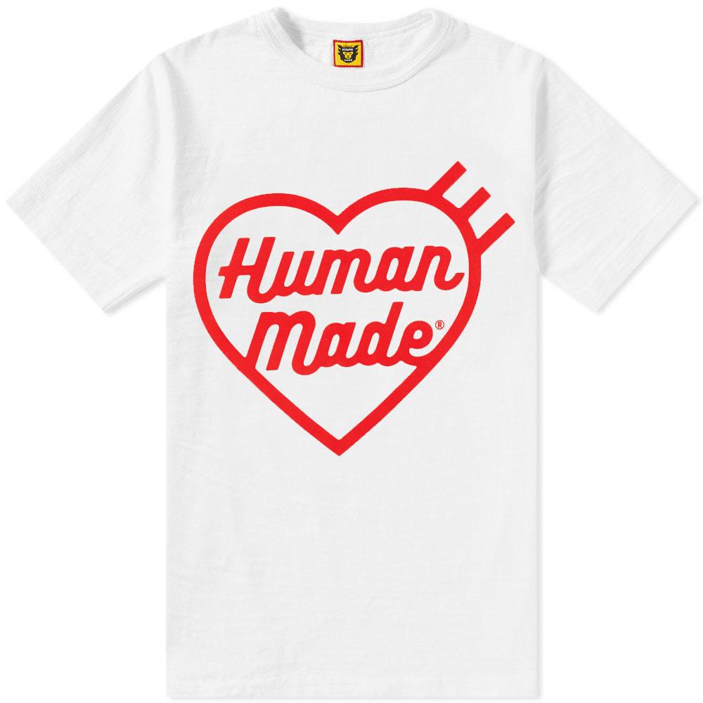 Photo: Human Made Front Heart Logo Tee