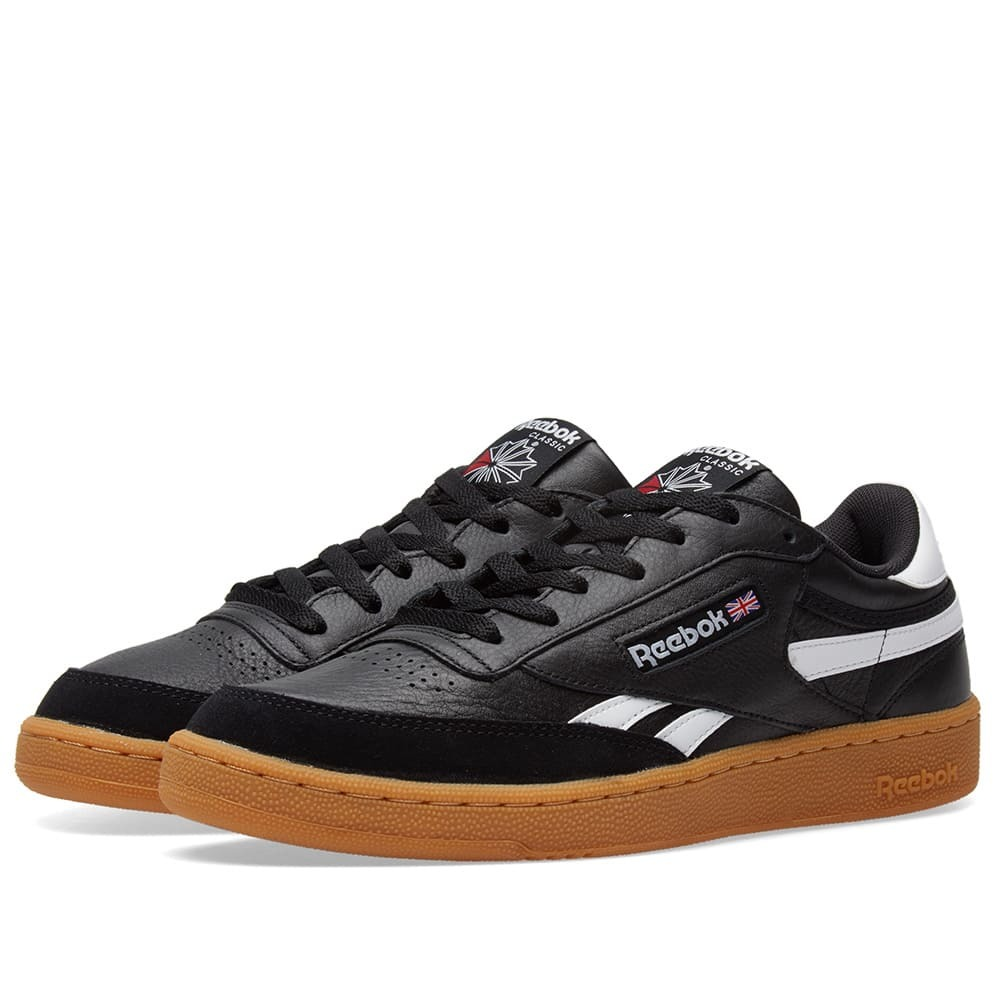 Photo: Reebok Revenge Plus Gum Black