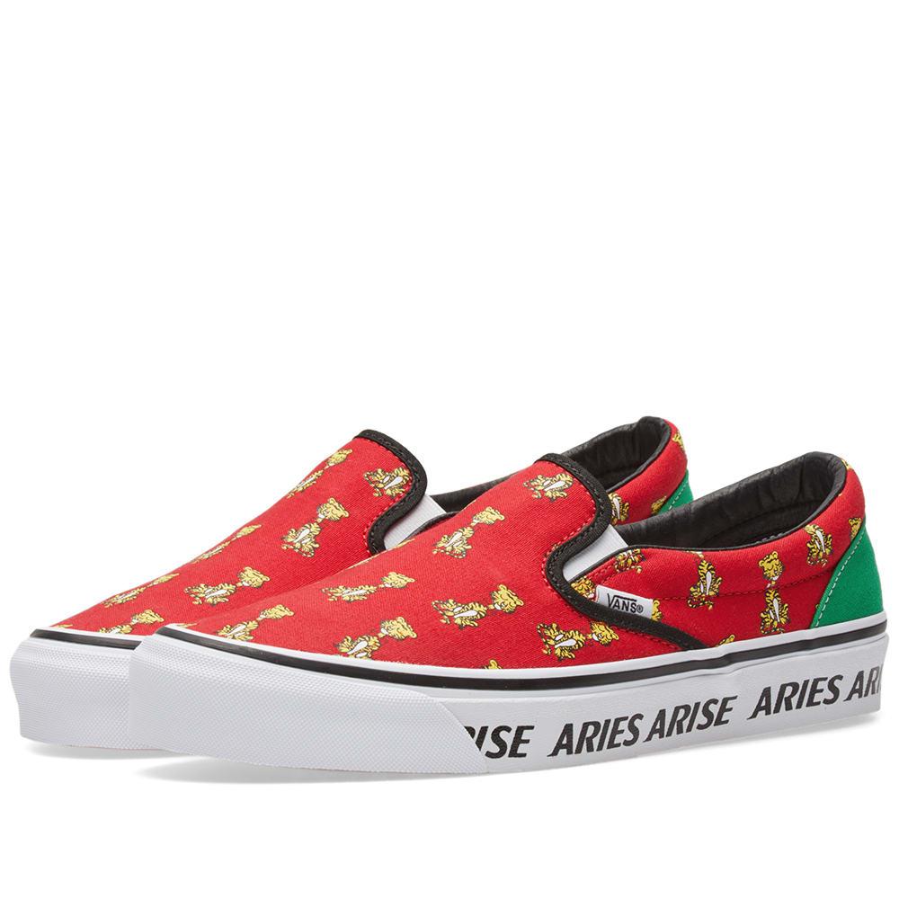 Vans x Aries OG Classic Slip On LX