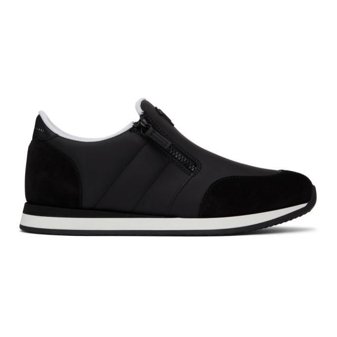 Photo: Giuseppe Zanotti Black Ulan Jim Sneakers