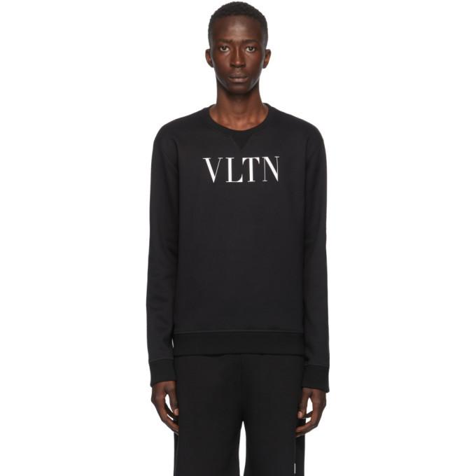Photo: Valentino Black VLTN Sweatshirt