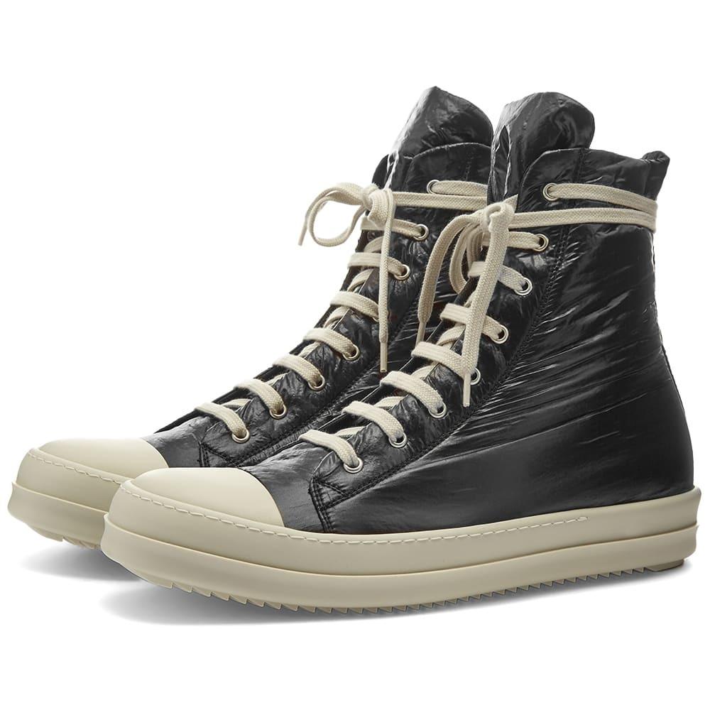 Photo: Rick Owens DRKSHDW Nylon Hi Top Sneaker