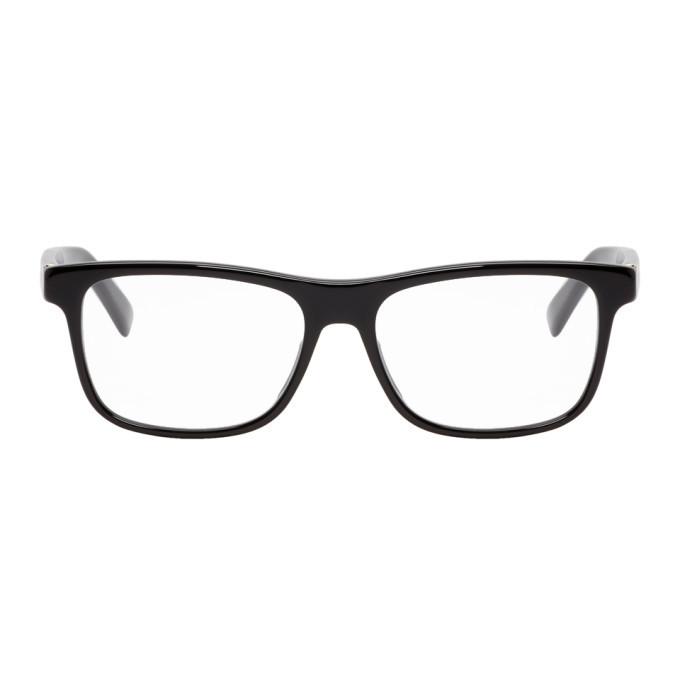 Photo: Gucci Black and Gold Square Glasses