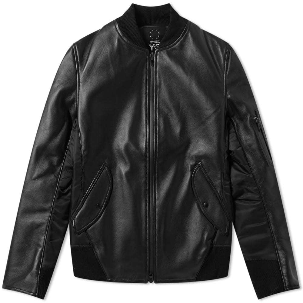 Photo: Y-3 Bonded Leather Jacket