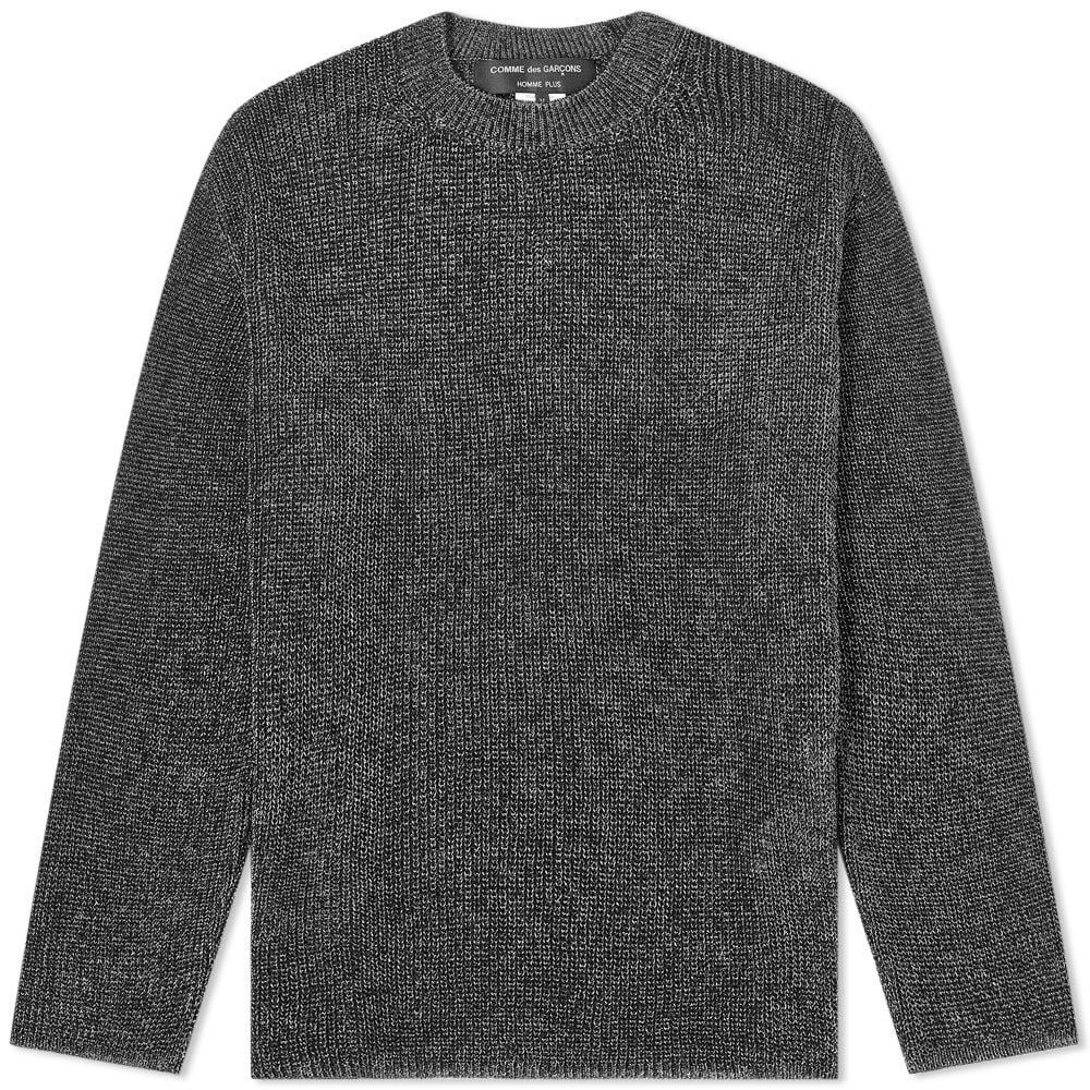 Photo: Comme des Garcons Homme Plus Silver Tint Knit