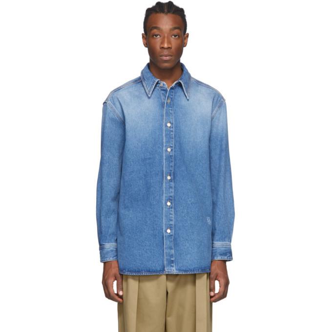Photo: Loewe Blue Denim Shirt