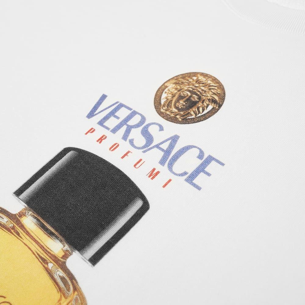 Versace Fragrance Bottle Crew Sweat
