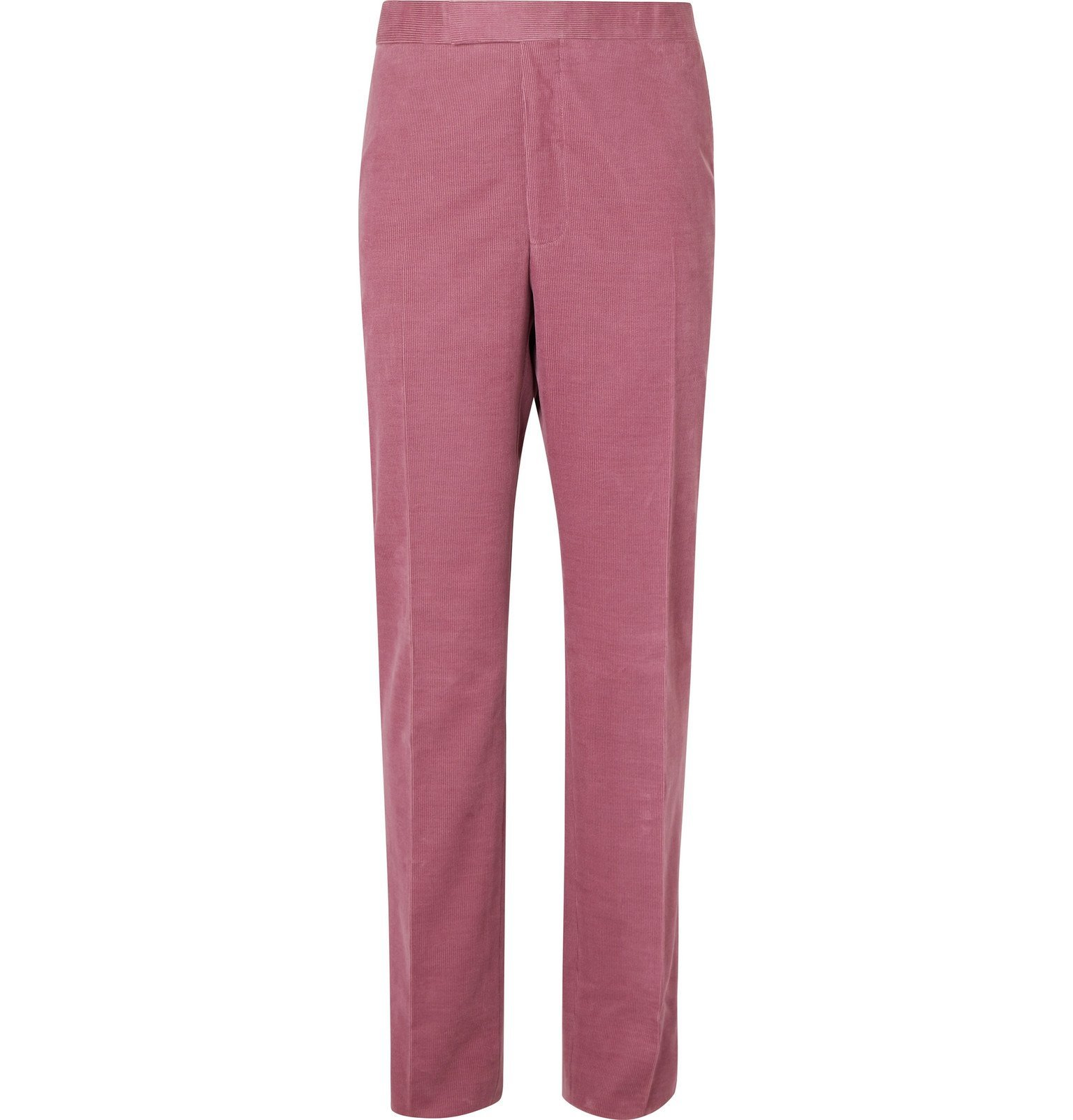 Photo: Richard James - Pink Hyde Cotton-Corduroy Suit Trousers - Pink