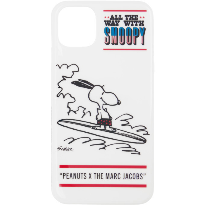 Photo: Marc Jacobs White Peanuts Edition Snoopy iPhone 11 Case