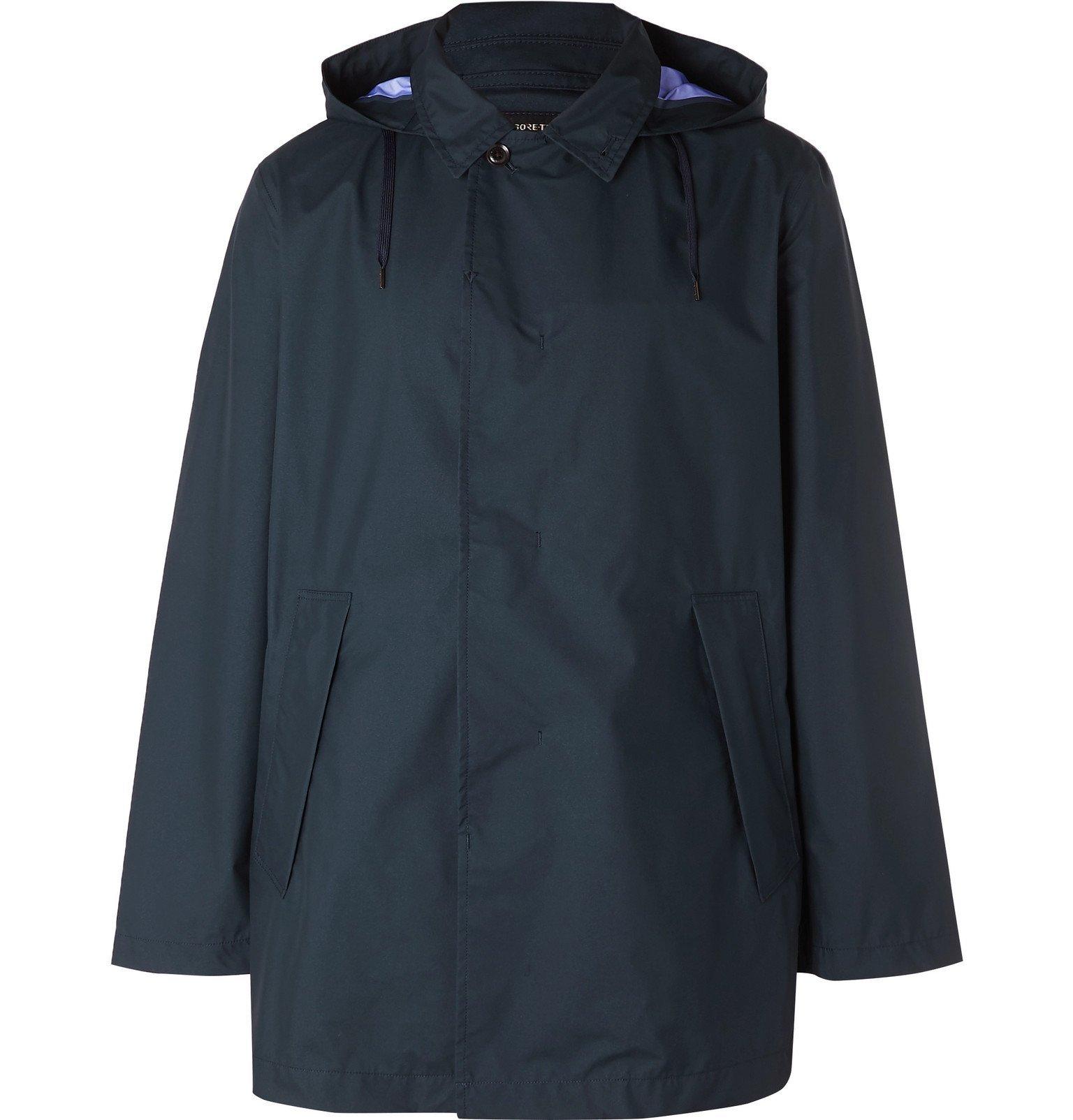 Photo: nanamica - GORE-TEX Raincoat - Blue