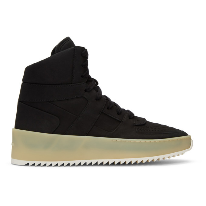 Photo: Fear of God Black Basketball Sneakers