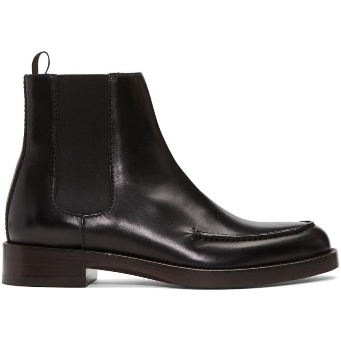 3.1 Phillip Lim SSENSE Exclusive Black Lou Boots