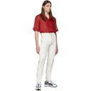 GmbH Red Silk Luka Shirt