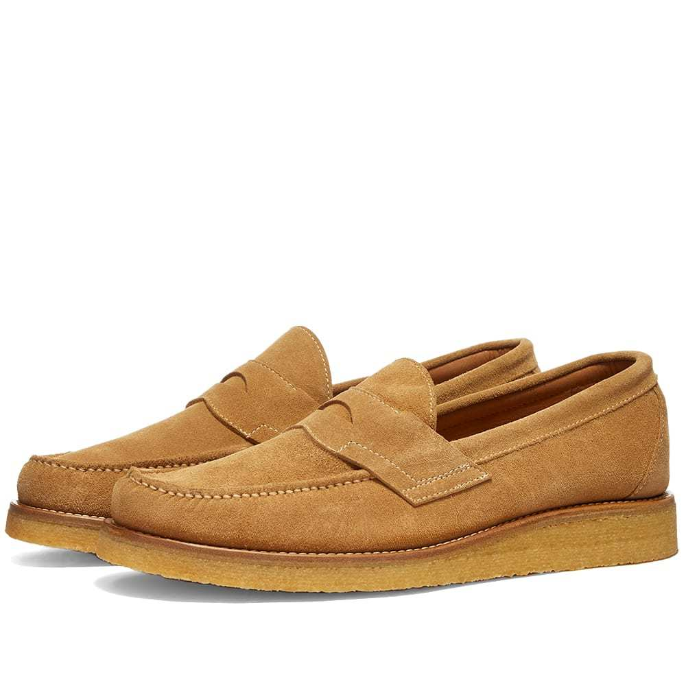 Photo: A Kind of Guise Crepe Loafer