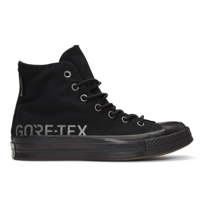 Converse Black Gore-Tex© Edition Chuck Taylor All-Star 70 High-Top Sneakers