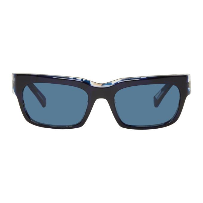 Photo: Alain Mikli Paris Blue Orage Sunglasses