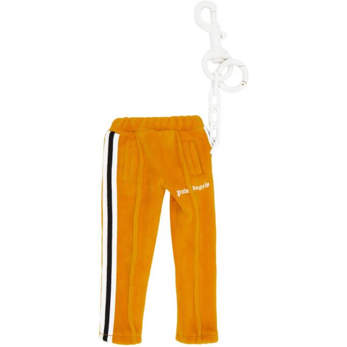Photo: Palm Angels Orange Mini Track Pants Keychain