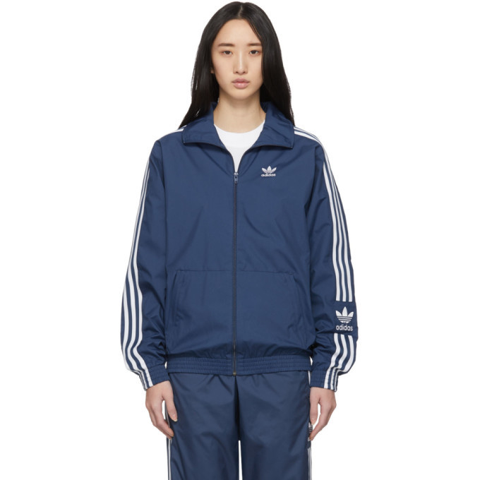 adidas Originals Blue Lock Up Track Jacket