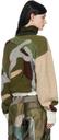 Sacai Green KAWS Edition Camo Turtleneck