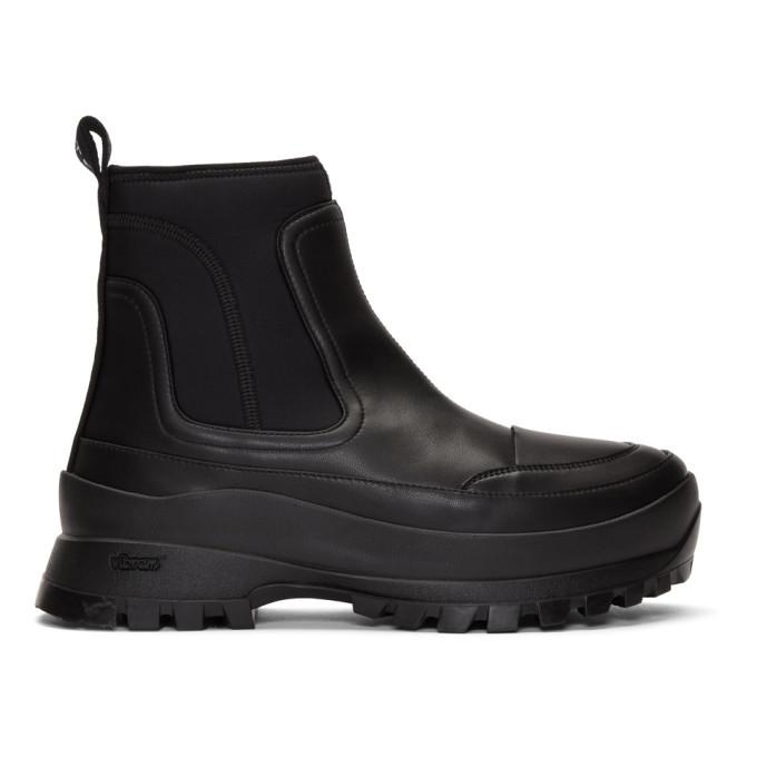 Photo: Stella McCartney Black Utility Boots
