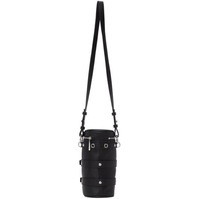 Versace Black Mini Biker Bag