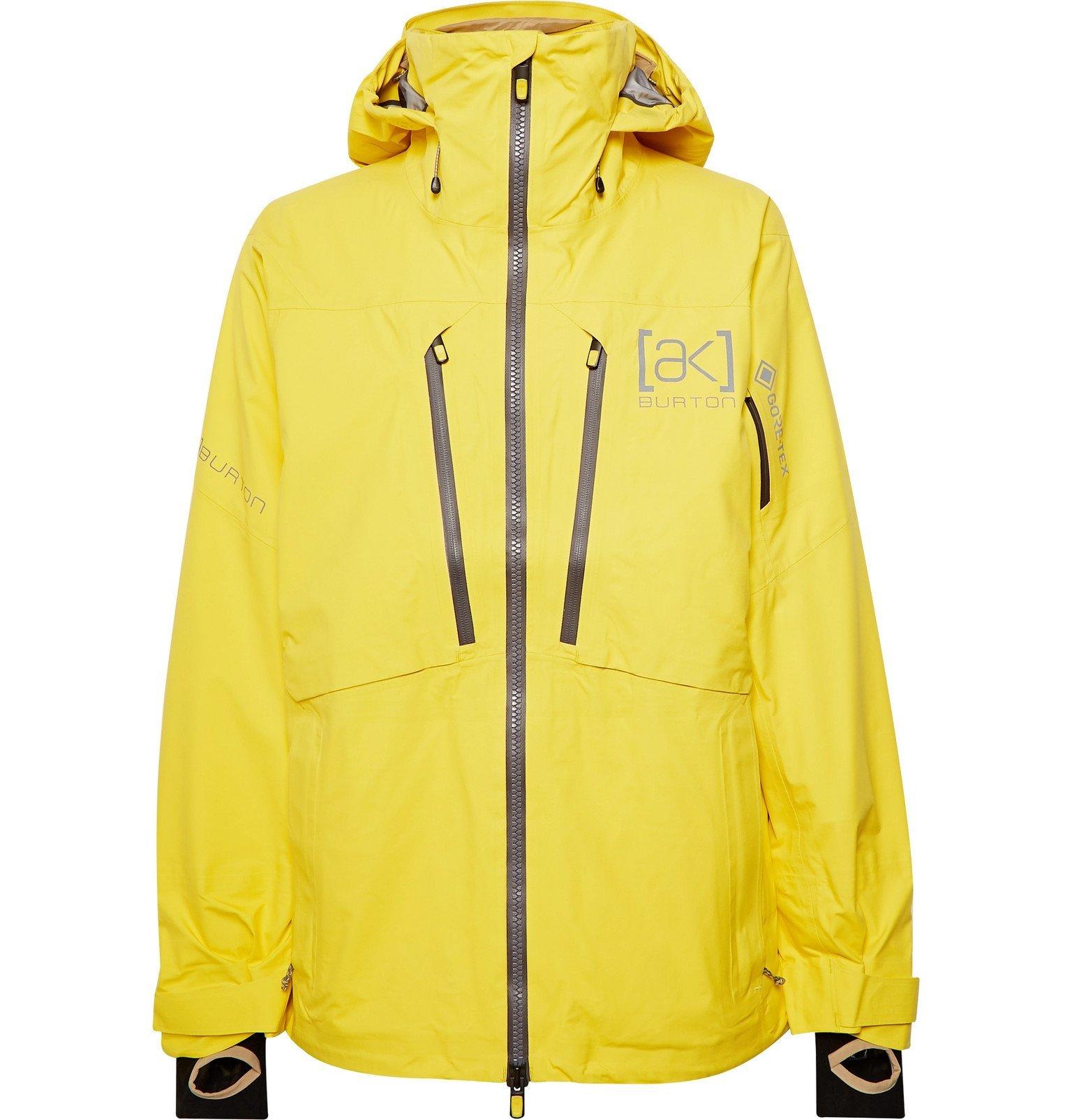 Photo: Burton - [ak] GORE-TEX 3L Stretch Hover Hooded Ski Jacket - Yellow