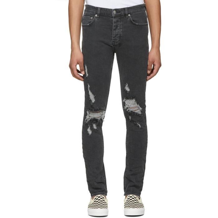Ksubi Black Chitch Blazed Jeans