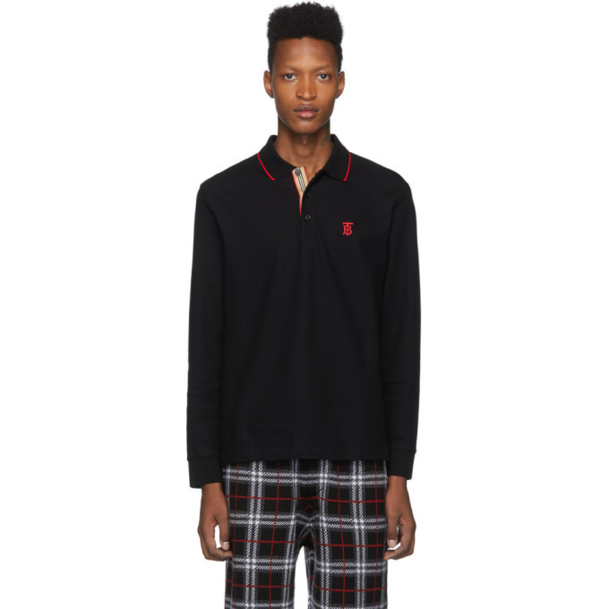 Photo: Burberry Black Monogram Walton Polo