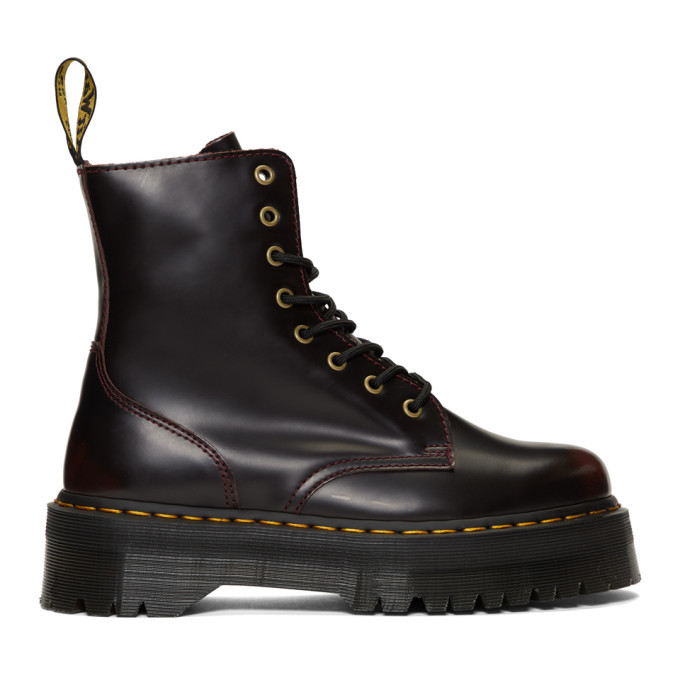 Photo: Dr. Martens Red Jadon Boots